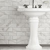 Victoria Metro Wall Tiles - White Marble Effect - 20 x 10cm Small Image