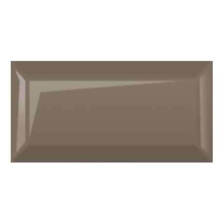 Victoria Metro Wall Tiles - Gloss Taupe - 20 x 10cm