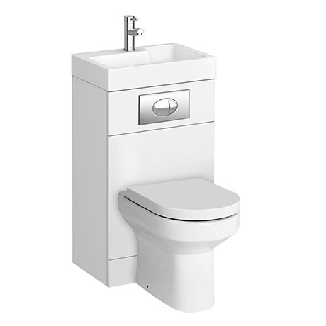 Metro Combined Two-In-One Wash Basin & Toilet (500mm wide x 300mm)