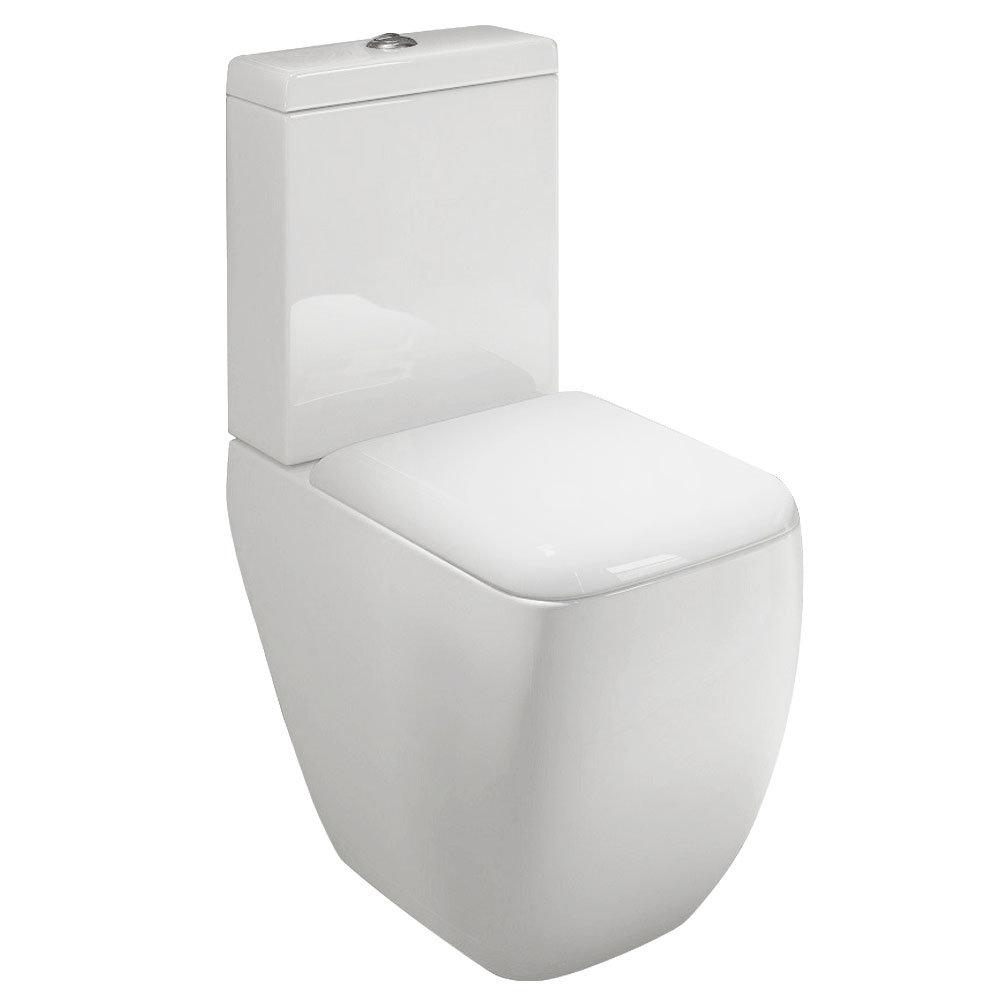 Rak Metropolitan Close Coupled Modern Toilet With Soft Close Seat