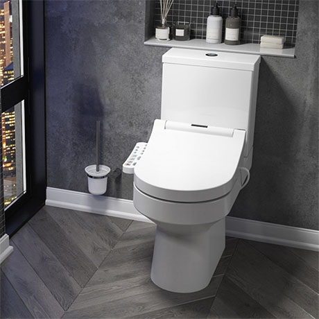 Metro Smart Toilet with Bidet Wash Function, Heated Seat + Dryer