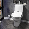 Metro Smart Toilet with Bidet Wash Function, Heated Seat + Dryer profile small image view 1