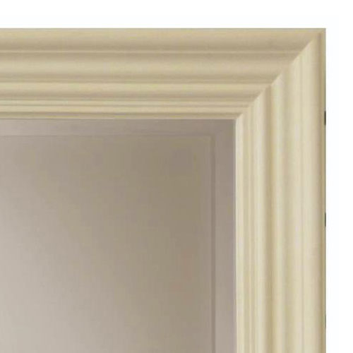 Heritage Edgeware Mirror (910 x 660mm) - Cream profile large image view 2