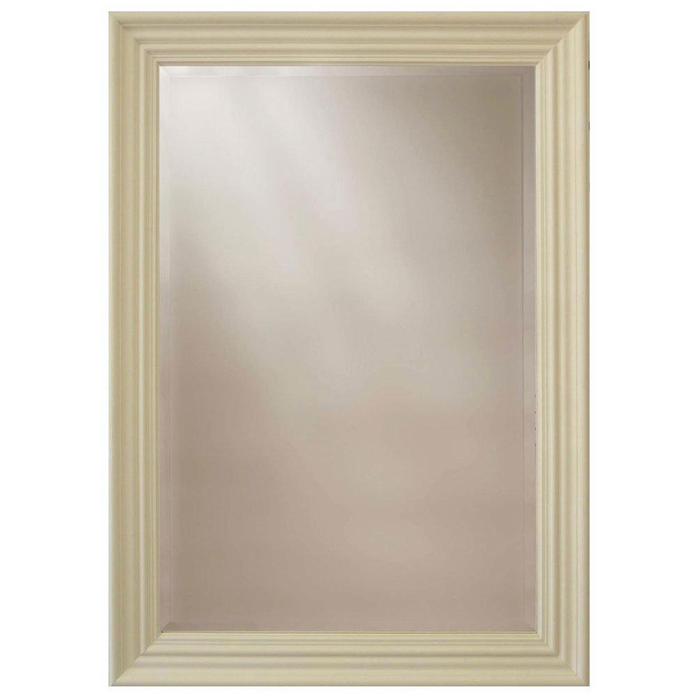Heritage Edgeware Mirror (910 x 660mm) - Cream Large Image