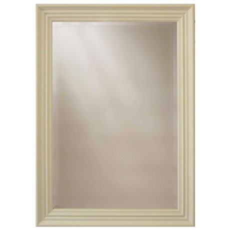 Heritage Edgeware Mirror (910 x 660mm) - Cream