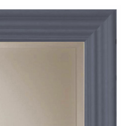 Heritage Edgeware Mirror (910 x 660mm) - Slate Grey profile large image view 2