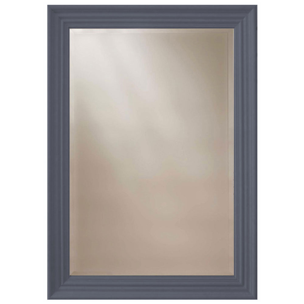 Heritage Edgeware Mirror (910 x 660mm) - Slate Grey profile large image view 1