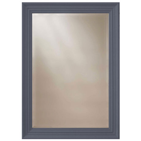 Heritage Edgeware Mirror (910 x 660mm) - Slate Grey