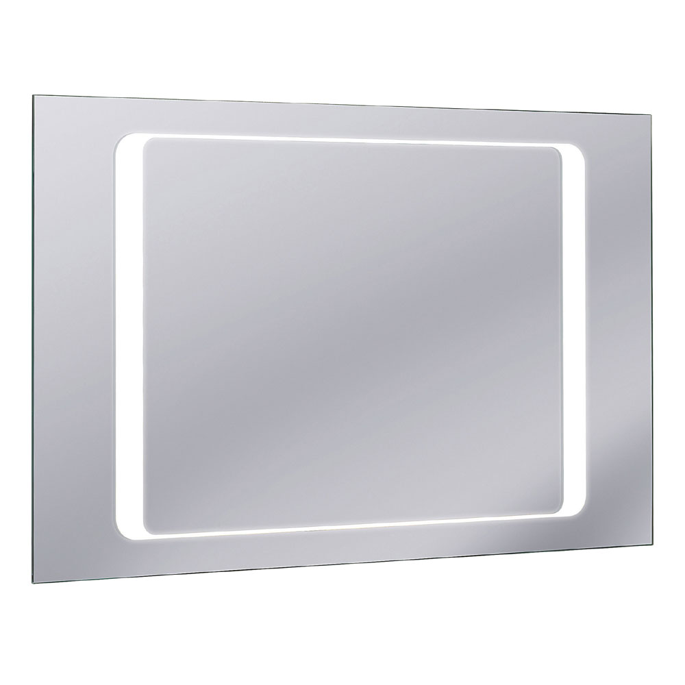 Bauhaus - Linea 100 LED Back Lit Mirror with Demister Pad - MF10060A Large Image