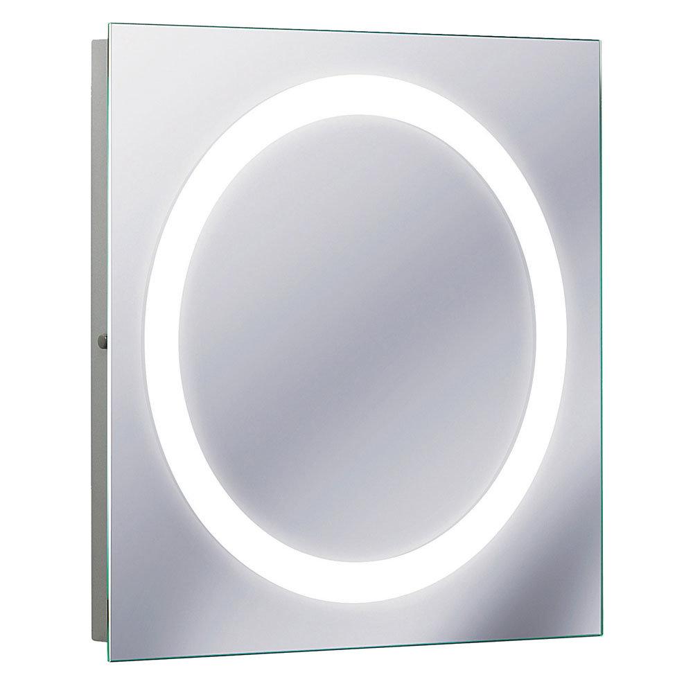 Bauhaus - Edge 55 LED Illuminated Mirror with Demister Pad - MF5555A Large Image