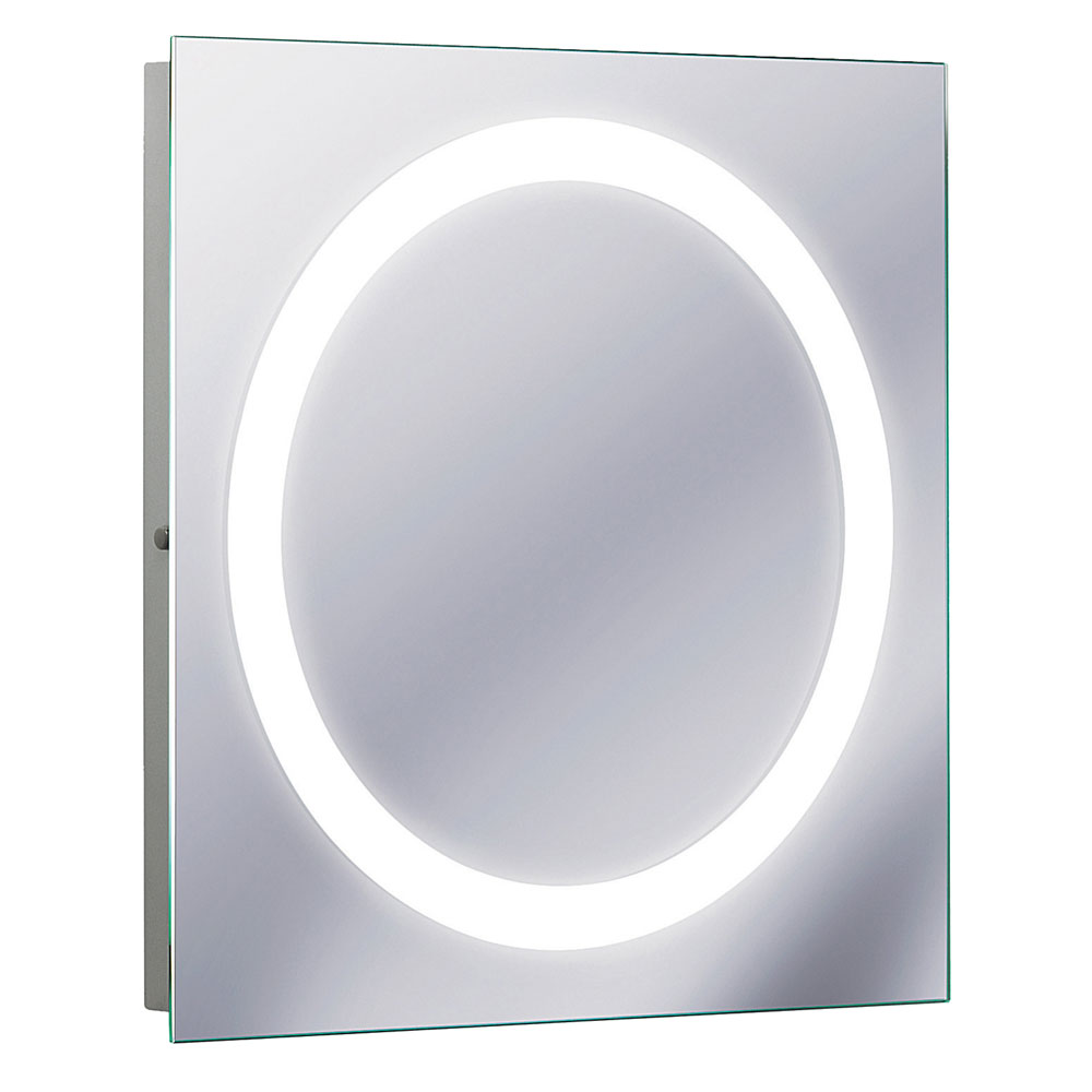 Bauhaus - Edge 55 LED Illuminated Mirror with Demister Pad - MF5555A profile large image view 1