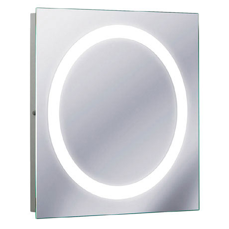 Bauhaus - Edge 55 LED Illuminated Mirror with Demister Pad - MF5555A