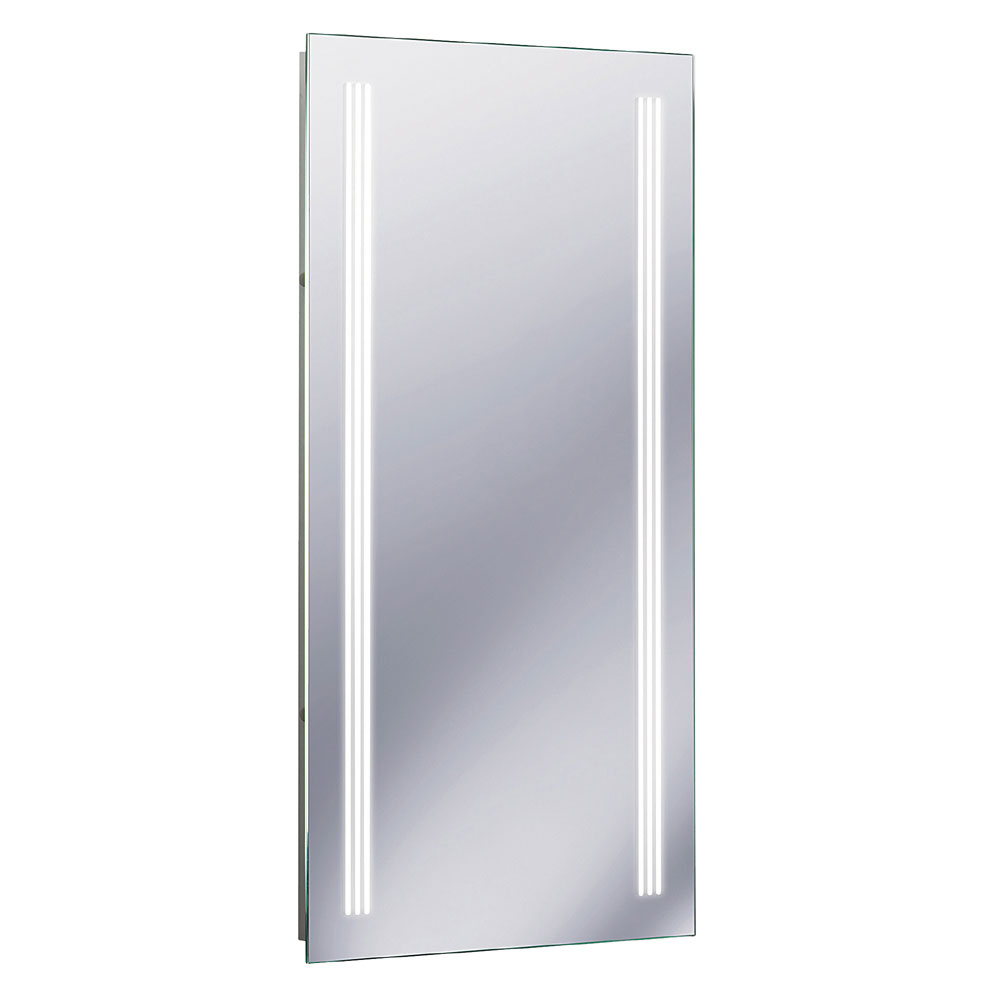 Bauhaus - Solo 80 Illuminated Back Lit Mirror with Demister Pad - MF8042A Large Image