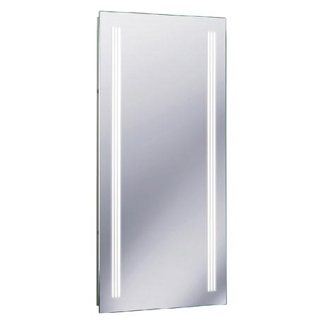 Bauhaus - Solo 80 Illuminated Back Lit Mirror with Demister Pad - MF8042A