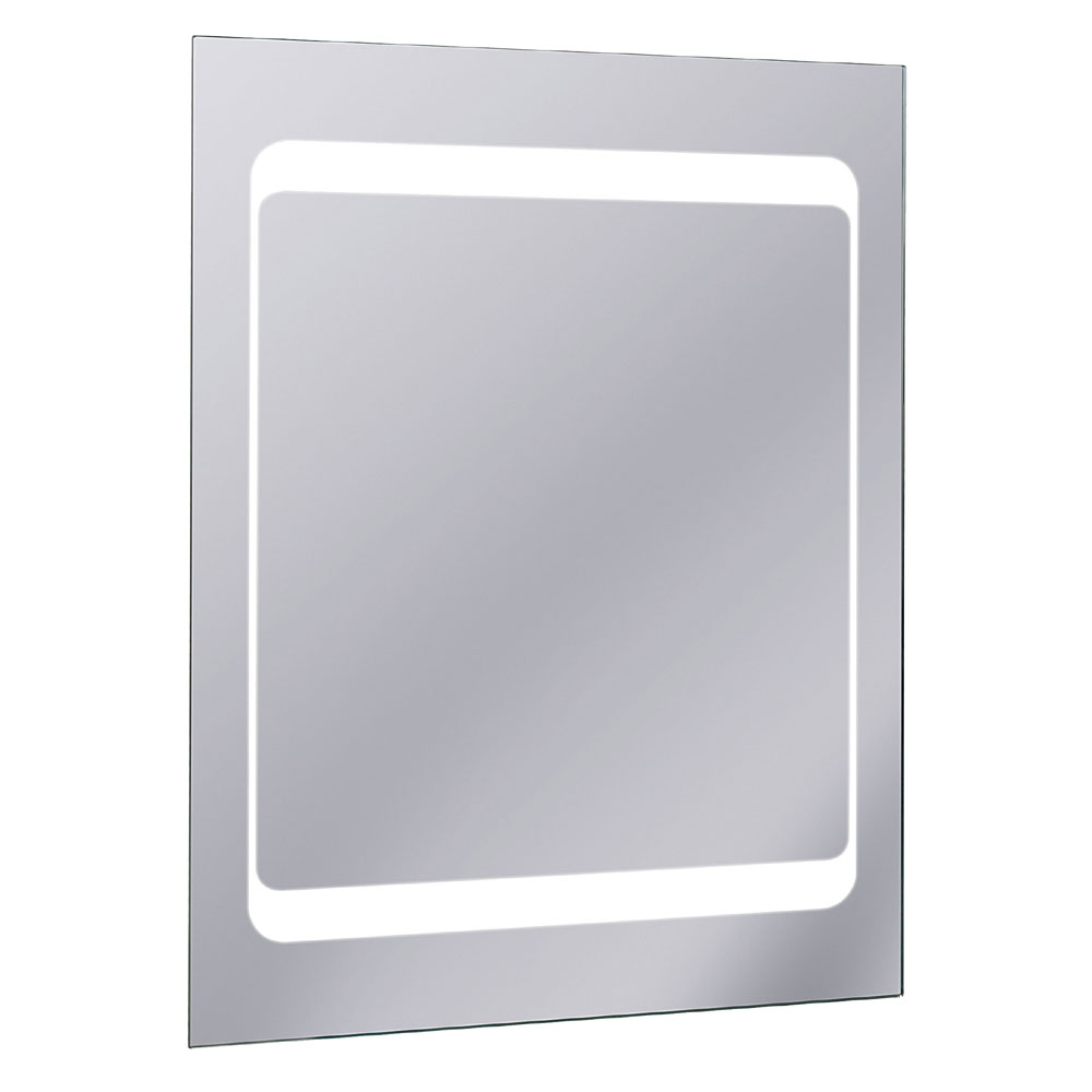 Bauhaus - Linea 80 LED Back Lit Mirror with Demister Pad - MF8060A Large Image