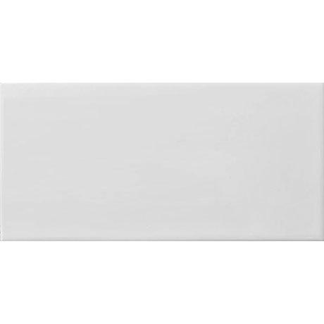 Metro Flat White Matt Wall Tiles 200 x 100mm