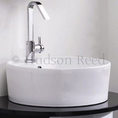 Hudson Reed Clio Side Action Single Lever Basin Mixer - MG380 Profile Large Image