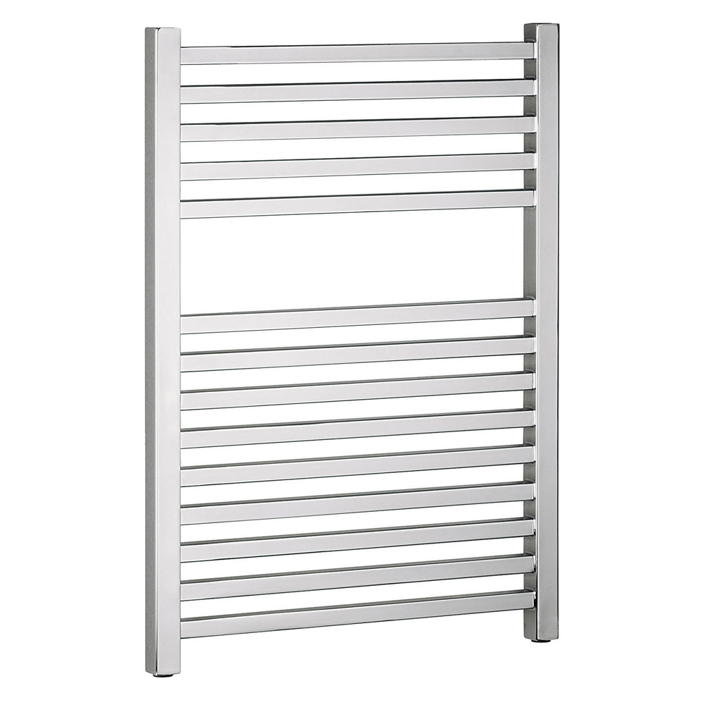 Bauhaus - Magnum Standard Straight Towel Rail - Chrome - 3 Size Options Large Image