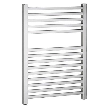 Bauhaus - Magnum Standard Straight Towel Rail - Chrome - 3 Size Options