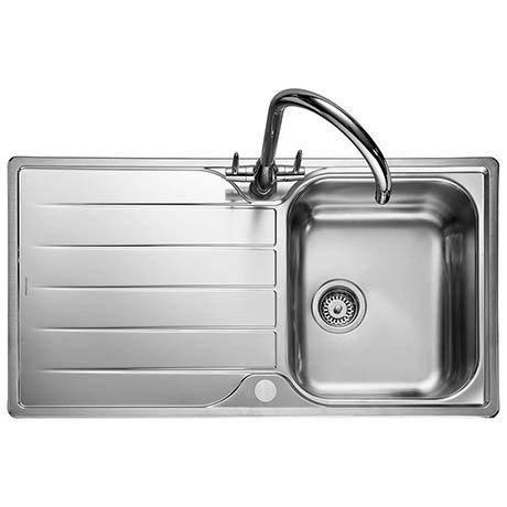 Rangemaster Michigan 1.0 Bowl Stainless Steel Kitchen Sink