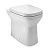 Britton MyHome Back-to-Wall Pan + Soft Close Seat profile small image view 1
