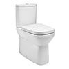 Britton MyHome Close Coupled Back-to-Wall Toilet + Soft Close Seat profile small image view 1