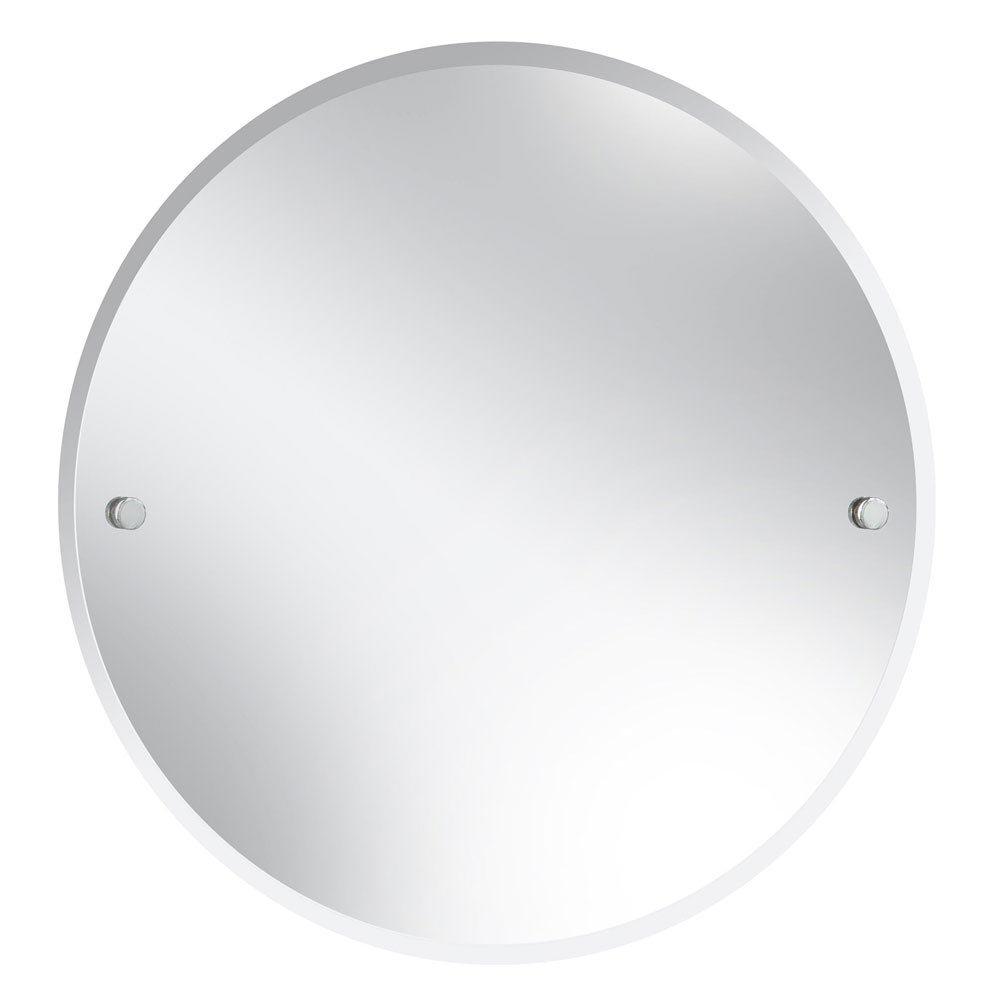 Heritage Harlesden Round Mirror - Chrome - MHDRDC Large Image