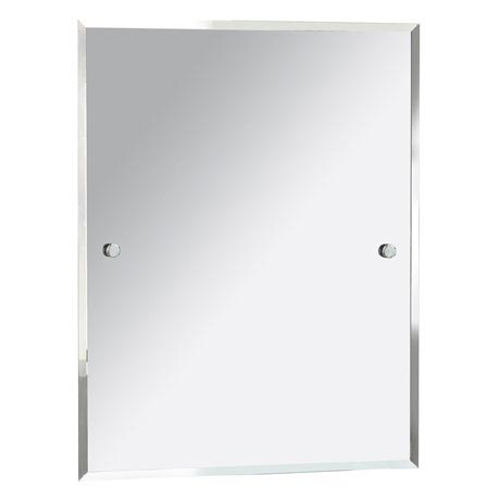 Heritage Harlesden Rectangle Mirror - Chrome - MHDREC