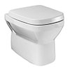 Britton MyHome Wall Hung Pan + Soft Close Seat profile small image view 1