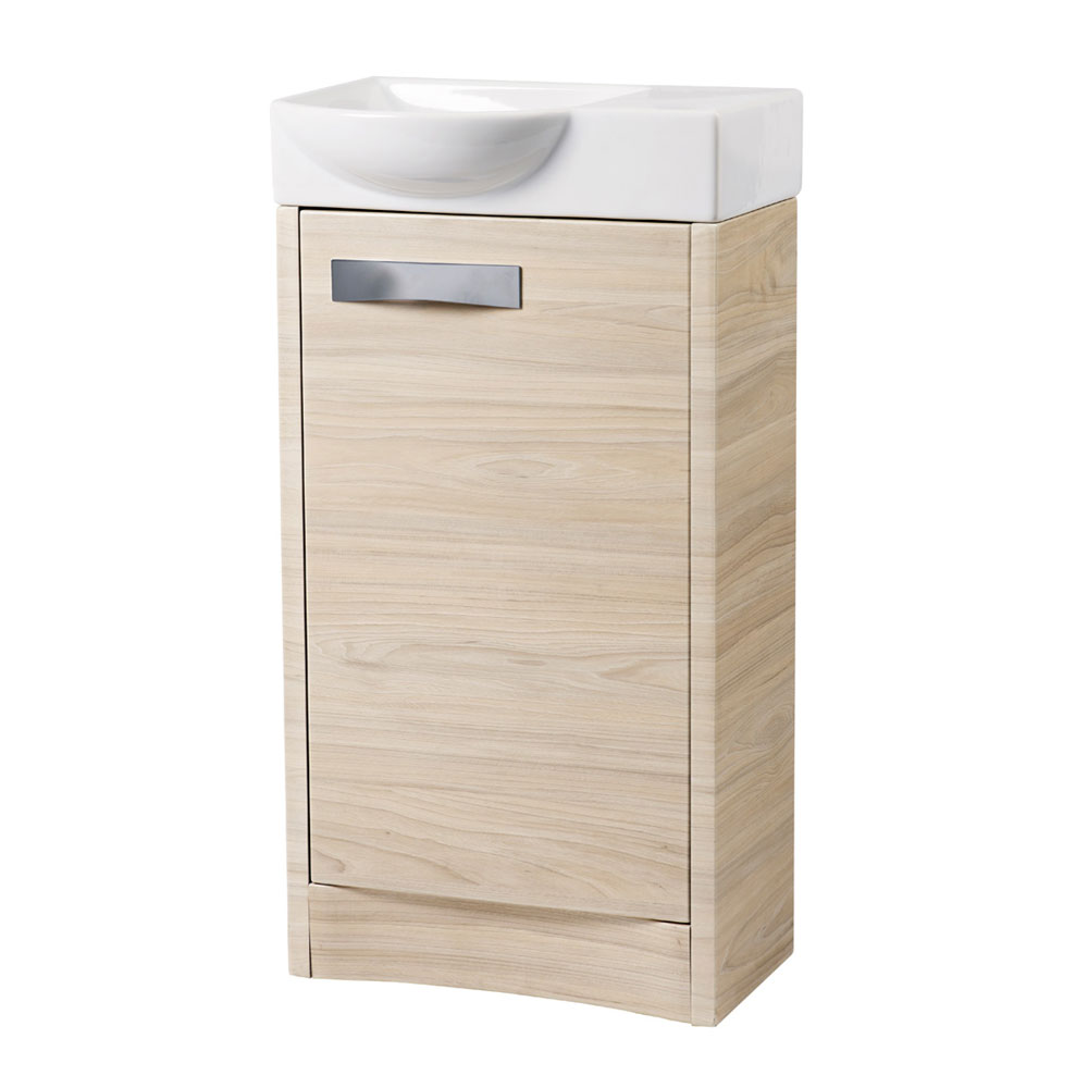 Roper Rhodes Mia 450mm Freestanding Unit - Light Elm Large Image