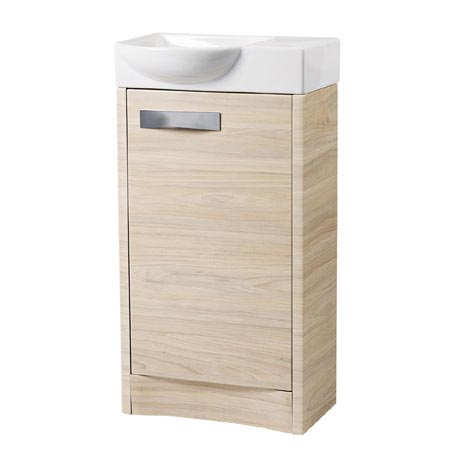 Roper Rhodes Mia 450mm Freestanding Unit - Light Elm