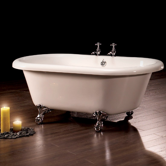 Royce Morgan Miami 1520 Luxury Freestanding Bath with Waste profile large image view 2