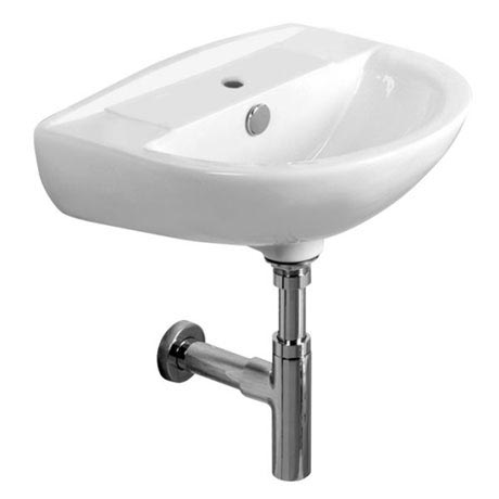 Tavistock Micra 450mm Ceramic Basin & Bottle Trap