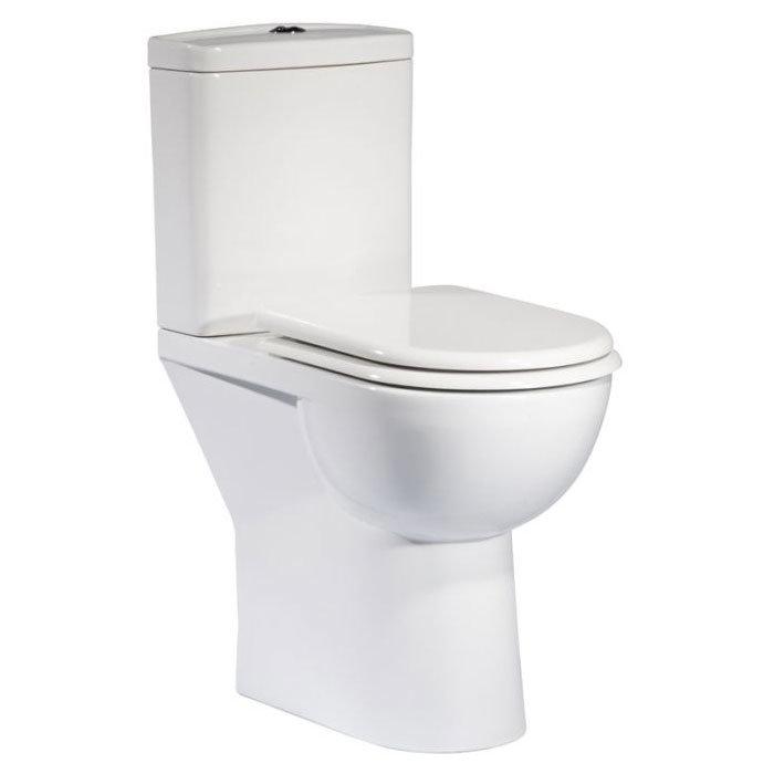 Tavistock Micra Comfort Height Close Coupled WC & Soft Close Seat profile large image view 1