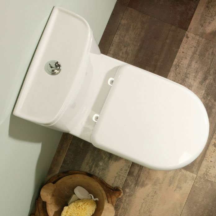 Tavistock Micra Short Projection WC & Soft Close Seat profile large image view 3