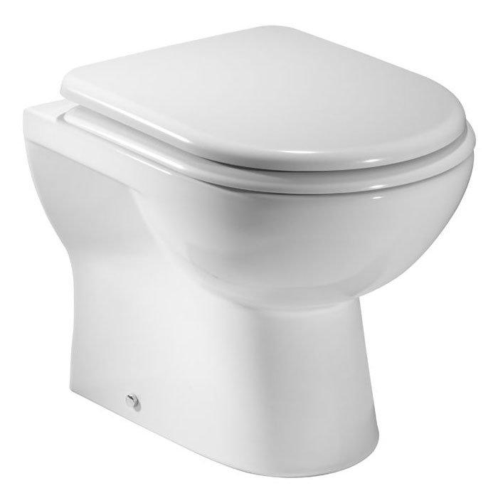 Tavistock Micra Back to Wall Pan & Soft Close Seat Large Image