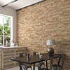 Michigan Ocre Rustic Brick Effect Tiles - 170 x 520mm Small Image