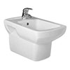 Milan Wall Hung Bidet profile small image view 1