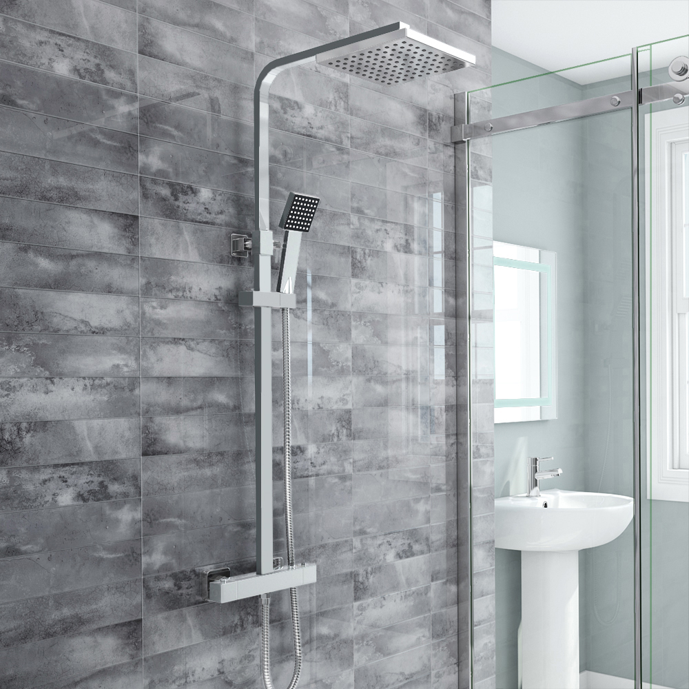 BUY NOW Milan Modern Chrome Thermostatic Shower