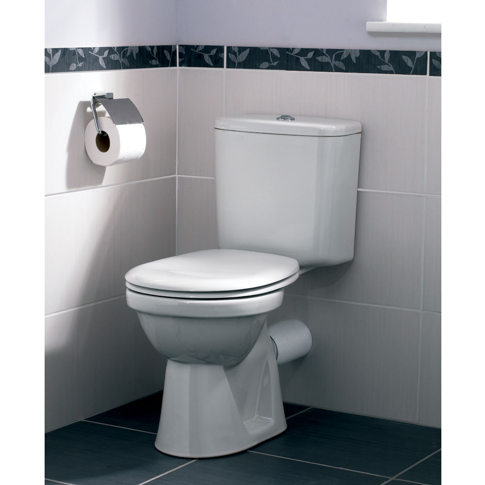 Vitra - Milton Close Coupled Toilet Profile Large Image