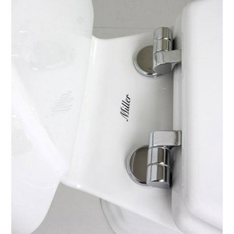 Miller - Close Coupled Pan and Cistern with Soft Close Seat Feature Large Image