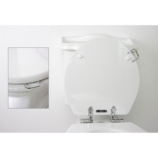 Miller - Close Coupled Pan and Cistern with Soft Close Seat Standard Large Image