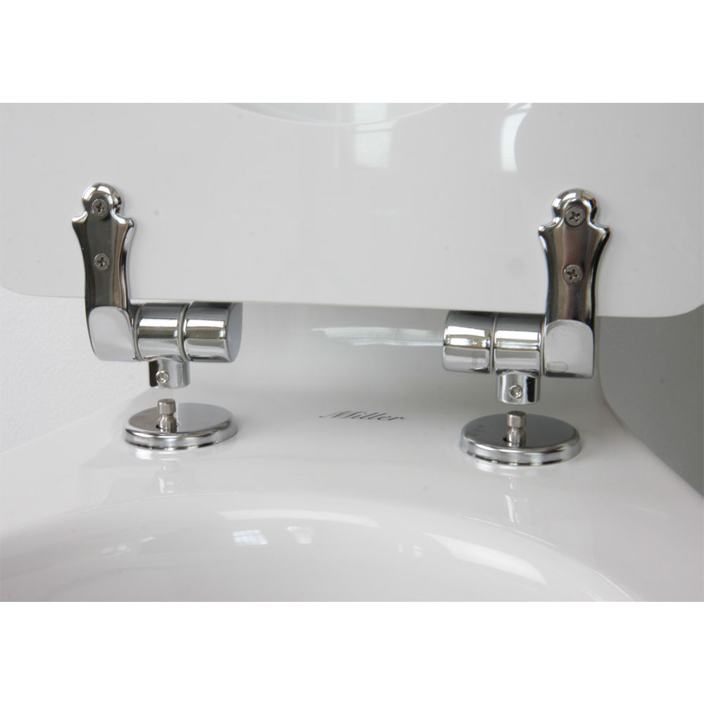 Miller - Close Coupled Pan and Cistern with Soft Close Seat Newest Large Image