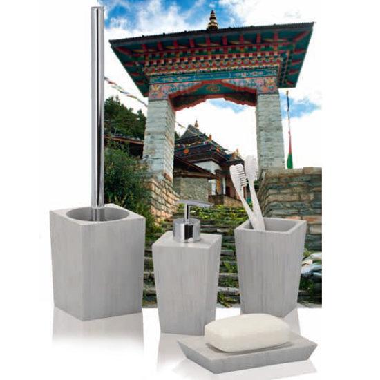 Wenko Milos Bathroom Accessories Set profile large image view 2