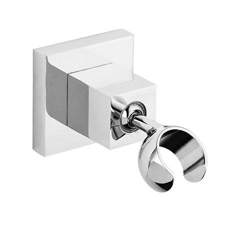 Milan Luxury Square Adjustable Shower Handset Holder