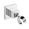 Milan Luxury Square Adjustable Shower Handset Holder profile small image view 1