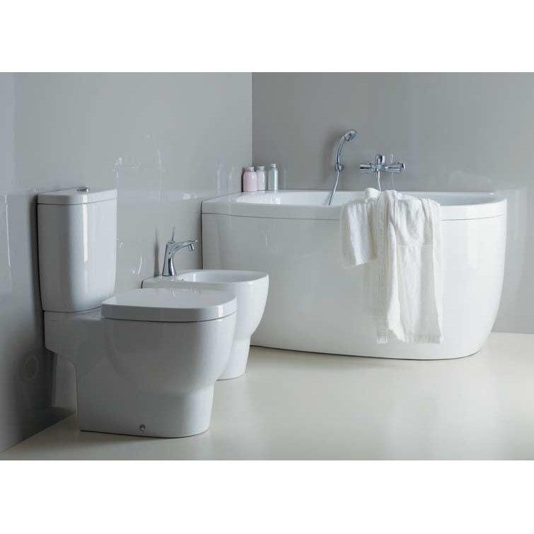 Laufen - Mimo Close Coupled Toilet (Open Back) - MIMWC1 Profile Large Image