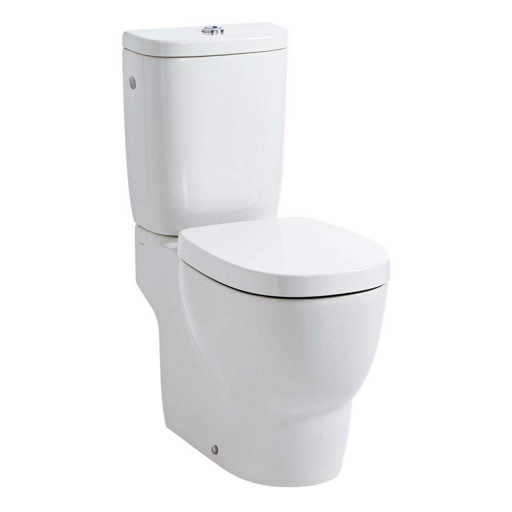 Laufen - Mimo Close Coupled Toilet (Open Back) - MIMWC1 profile large image view 1