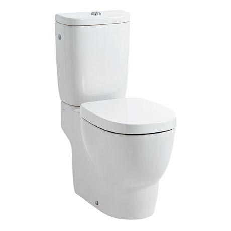 Laufen - Mimo Close Coupled Toilet (Open Back) - MIMWC1