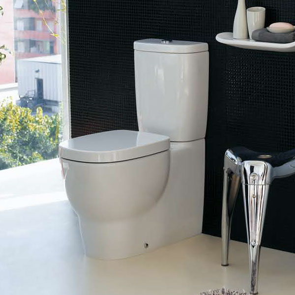 Laufen - Mimo Close Coupled Toilet (Back to Wall) - MIMWC2 Profile Large Image